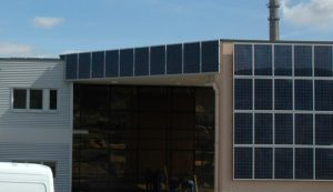 Fassade Photovoltaik